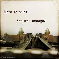 you are worth it <3