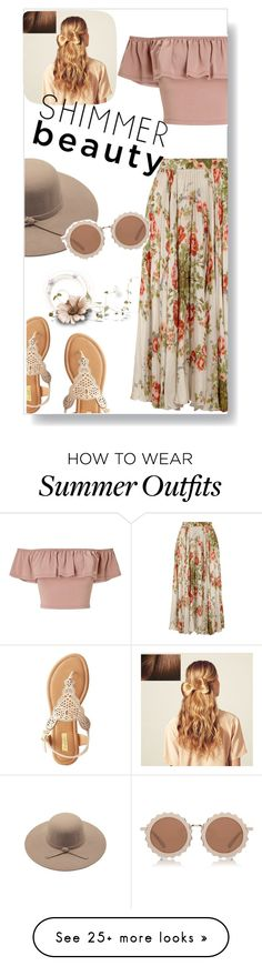 """""""Let's go picnic"""" by fanfanfanfannnn on Polyvore featuring Gucci, Miss Selfridge, Qupid, House of Holland, Hershesons, Summer and outfitsfortravel"""