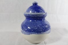 Pottery Jar with Lid by SifoutvPottery on Etsy