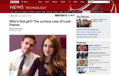 BBC News - Who's that girl? The curious case of Leah Palmer.