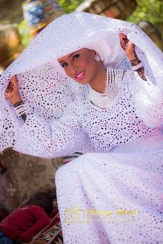 Hausa bride ~African fashion, Ankara, Kente, kitenge, African women dresses, African prints, African men's fashion, Nigerian style, Ghanaian fashion ~DKK