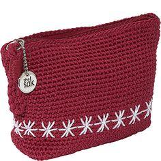 crochet nylon purse