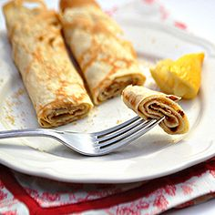 English Pancakes... so so good!! Dad's the best cook :)