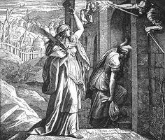 Bilder der Bibel - Judiths Rückkehr - Julius Schnorr von Carolsfeld