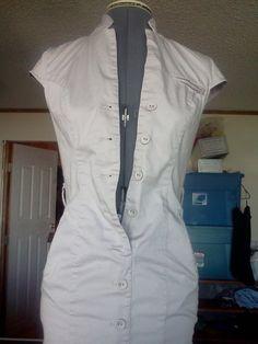 BEIGE DRESS WITH POCKETS!!