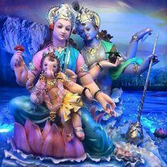 Mahadev,Parvati,Ganesh, Kartikeya