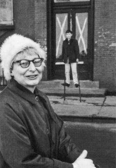 Jane Jacobs Jane Jacobs, Manhattan Neighborhoods, Slums, Urban Planning, Winter Hats, New York, People, Writer, Boss