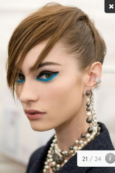 Chanel runway makeup