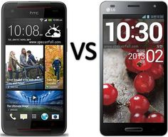 Compare HTC Butterfly S vs LG Optimus GK