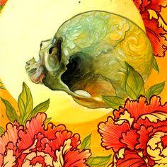 Image of UB sketch contest prints Jeff Gogue, Grants Pass Oregon, Irezumi, Paper Size, Mandala, Sketches, Ink, Tattoo Ideas, Skulls
