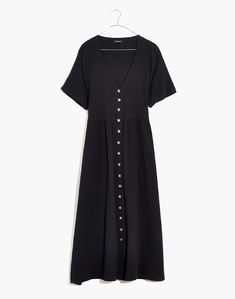 Lightspun Button-Front Midi Dress