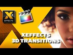 XEffects 3D Style Transitions for FCPX Final Cut Pro