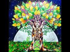 Árvore encantada e seu luar surreal por Diana Moraes - YouTube