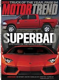 FREE Digital Subscription to Motor Trend Magazine! Trends Magazine, Car Magazine, Lambo Truck, Superbad, 1 Year, Transportation, Trucks, Digital, Vehicles