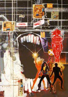 Artist: BILL SIENKIEWICZ The New Mutants