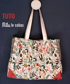 Patchwork Diy Tuto Sac 56 Ideas For 2019 Coin Couture, Couture Sewing, Couture Bags, Diy Tote Bag, Reusable Tote Bags, Diy Wallet, Diy Bags Purses, Tahiti, Entryway Decor