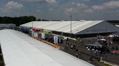 Neben den festen Messehallen brauchte die ILA Berlin noch eine unserer Jumbohallen, um alle Aussteller unter zu bekommen.