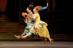 Gary Avis and Philip Mosley as the Stepsisters in Cinderella by Royal Opera House Covent Garden, via Flickr