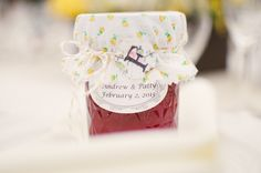 Wedding favors for country wedding
