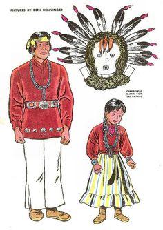 Jack and Jill ~ July 1946 ~ Navajo Family