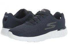 SKECHERS Go Run 400 (Navy) Men's Running Shoes