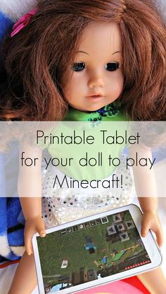 printable tablet minecraft