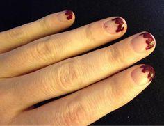 Zoya Nail Polish in Dakota does a good impression of blood - shared via twitter