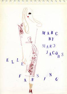 """Elle Fanning: Marc by Marc Jacobs' Fall 2011 campaign"" After featuring a Dakota Fanning, Marc has picked her younger sister Elle Fanning to the fall 2011 campaign for Marc by Marc Jacobs. 姉のダコタに続いて、エル・ファニングもMarc by Marc Jacobsの顔に!"