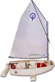 opti sailboat