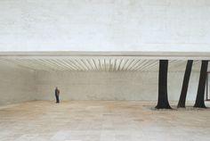 Sverre Fehn - Nordic pavilion for the Venice Biennale, 1958. Previously, photos (C) Åke E:son Lindman