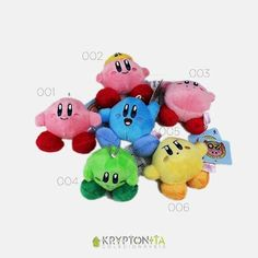 Pelúcia Chaveiro - Kirby 7cm