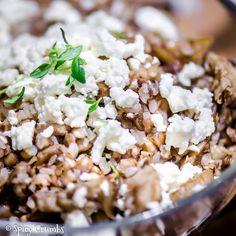 Pohanka s hlívou a tymiánem - Spicy Crumbs