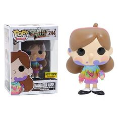 Funko Mabelcorn Mabel, Hot Topic Exclusive, Gravity Falls, Disney, Funkomania