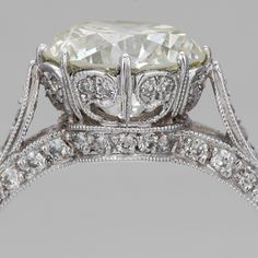 Brilliant New Trend: Edwardian Engagement Rings