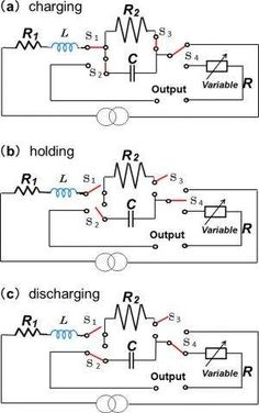 Can capacitors in electrical circuits provide large-scale energy storage? ~ Using capacitors as energy storage devices in circuits has potential applications for hybrid electric vehicles, backup power supplies, and alternative energy storage. Electronic Circuit Projects, Electrical Projects, Electronic Engineering, Electronics Projects, Basic Electrical Engineering, Power Engineering, Power Electronics, Engineering Technology, Electronics Components