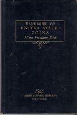 HANDBOOK OF UNITED STATES COINS WITH PREMIUM LIST 1966 $7.99
