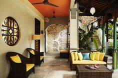 Hotel Penaga, Georgetown, Penang - luxury heritage boutique hotel in the heart of Georgetown - outside the Penaga Spa