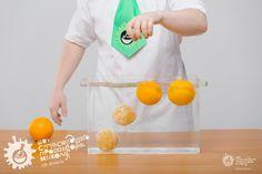 Плавающий апельсин — Шоу сумасшедшего профессора Николя #эксперименты #Экспериментысдетьми #опыты