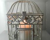 distressed farmhouse bird cages - Google Search