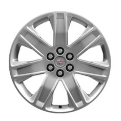 SRX Wheel, 20 inch, 7 Spoke, Manoogian Silver, your SRX with these 20 Inch Manoogian Silver painted Accessory Wheels. Use only GM-approved wheel and tire combinations. 20 Inch Wheels, Cadillac Srx, Silver Paint, Wheels And Tires, Silver Color