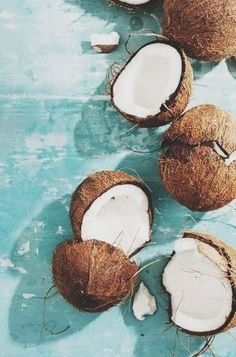 Afbeelding via We Heart It #coconut #summer