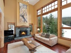Luxury Mountain Slope Side Chalet Ski in/Out - Houses for Rent in Whistler, British Columbia, Canada Winter Family Vacations, Ski Vacation, Great Vacations, Vacation Resorts, Vacation Rentals, Luxury Life, Luxury Homes, Best Ski Resorts, Renting A House