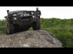 4x4 EXTREME OFF ROAD Hummer H3 Rock Crawling in 4X4 OVERLAND OFF ROAD AD...