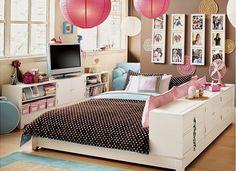 Ideia para quarto de menina.
