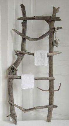 sdb : séchoir serviettes / patère