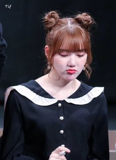 Ribbon Hairstyle, G Friend, Korean Singer, Girl Group, Cool Pictures, Shit Happens, Pretty, Face, Beautiful