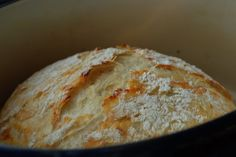 Simply So Good: Crusty Bread No knead; let rise 12-18 hours; try different flavors