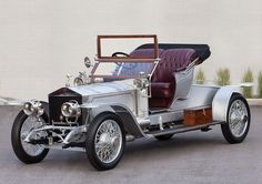 1911 Rolls-Royce 40-50 HP Silver Ghost Roadster.