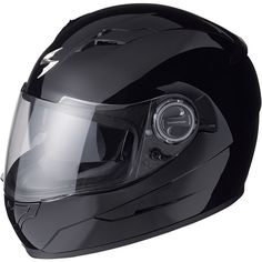 Scorpion EXO has a built-in sun visor Motorcycle Helmet Accessories, Motorcycle Riding Gear, Full Face Motorcycle Helmets, Full Face Helmets, Scorpion, Exo, Flip Up Helmet, Half Helmets, Ninja Girl