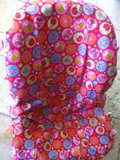 Cute As A Bug Toddler Carseat cover on Etsy, $40.00